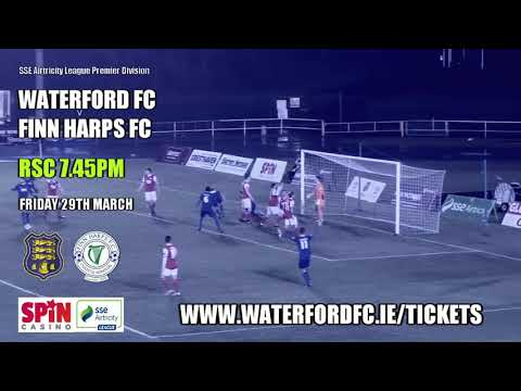 TICKETS ON SALE: WATERFORD FC v FINN HARPS FC