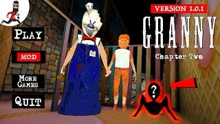 GRANNY is ROD [update 1.0] ► ALL GAME ENDINGS ► GRANNY: CHAPTER TWO MOD ICE SCREAM