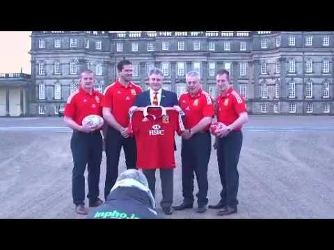 British & Irish Lions 2013 Assistant coaches conference | Lions Rugby Video Highlights