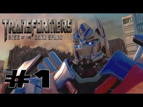 Transformers Rise of The Dark Spark - Walkthrough Part 1 Gameplay  - Transformers 4 Game