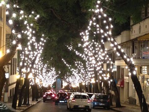 ILUMINA��ES DE NATAL FUNCHAL MADEIRA 2014 Christmas illuminations