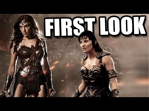 WONDER WOMAN First Look! Batman vs Superman Dawn of Justice