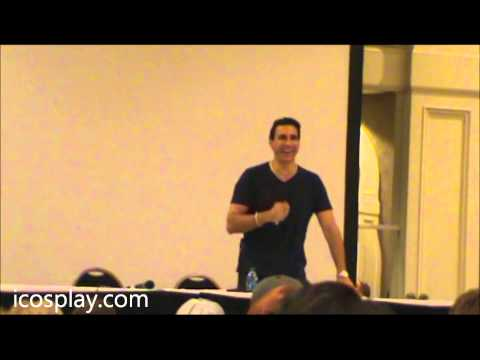 FandomFest 2013 Adrian Paul panel part 1
