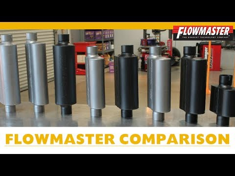 Flowmaster Muffler Comparison w/Examples - How to Choose a Muffler for V6 Dodge Charger & Other Cars