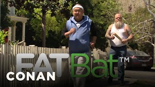 Meet Your Fitness Goals With FatBat  - CONAN on TBS