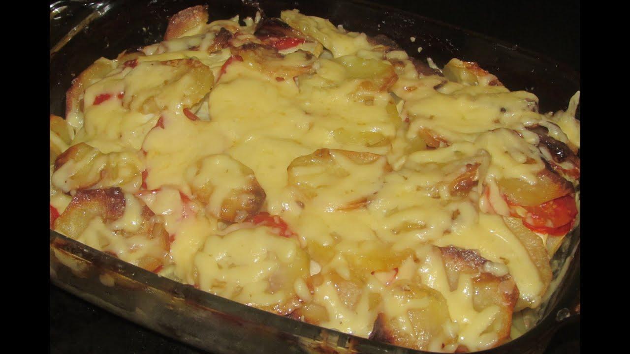 Запеканка картофельная с фаршем в мультиварке рецепт пошагово