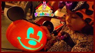Halloween at Disneyland & Haunted Mansion Disneyland in 4K