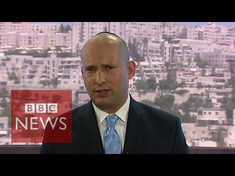 'How many Israelis need to die to gain your sympathy?' asks Naftali Bennett - BBC News
