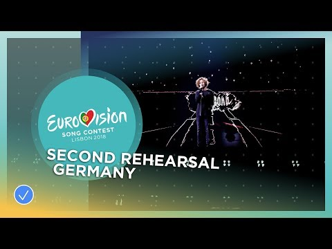 Michael Schulte - You Let Me Walk Aline - Exclusive Rehearsal Clip -Germany - Eurovision 2018