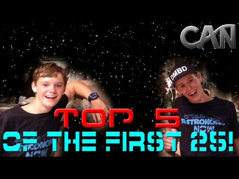 Top 5 of the first 25 Episodes - Creation Astronomy Now