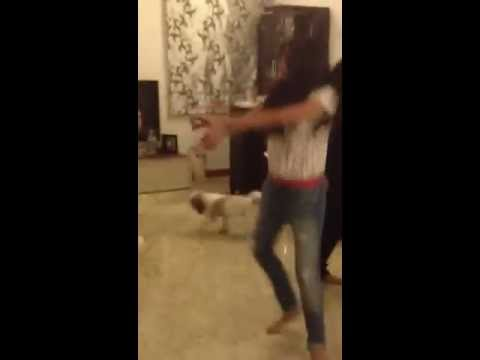 Gujarati Girl Dances To Gangnam Style video