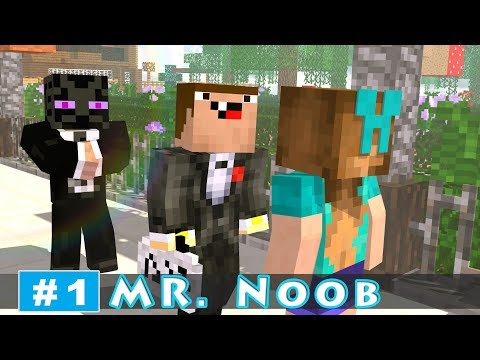 MR. NOOB - EP1: CEO Noob | Minecraft Animation