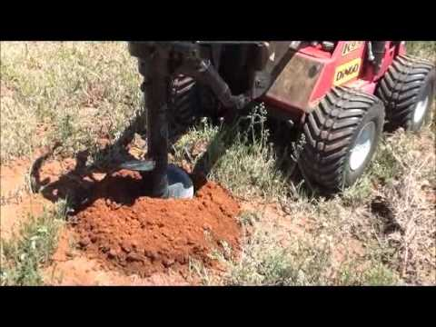 Canberra Dingo Hire 300mm post hole digger
