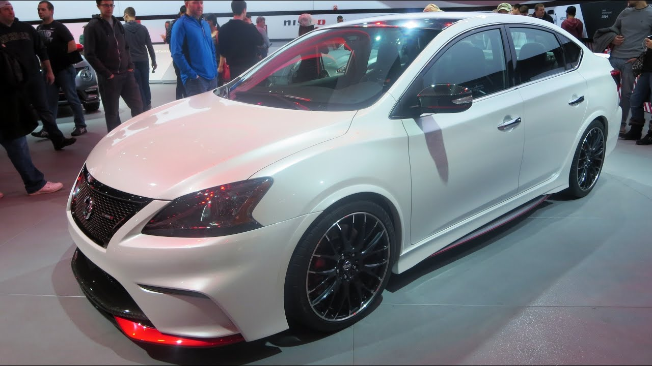2015 nissan sentra nismo concept at the 2014 naias auto. Black Bedroom Furniture Sets. Home Design Ideas
