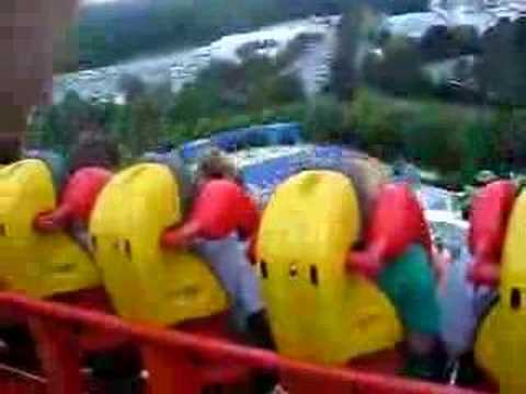 Riding on GRIFFON - BUSCH GARDENS, WILLIAMSBURG, VA