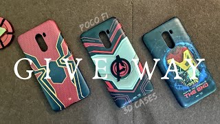 3D Cases for Poco F1 || GIVEAWAY ||
