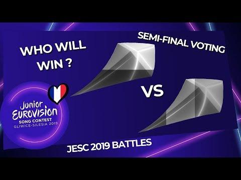 Junior Eurovision 2019 Battles   Semi-Final Round Voting (VOTE NOW)