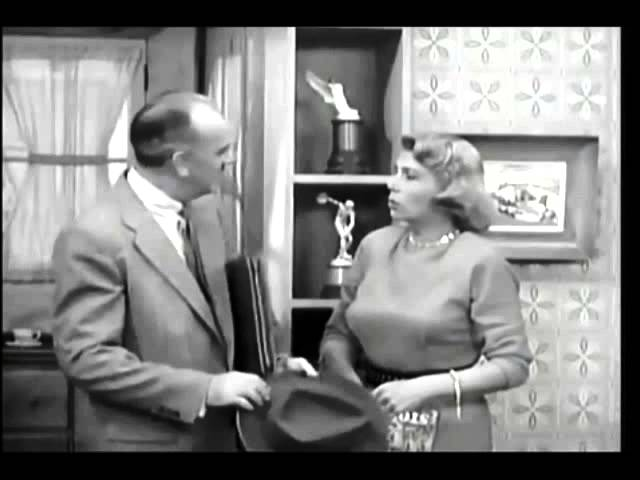 Larry Keatings first appearance as the 4th and final Harry Morton on The Burns and Allen Show