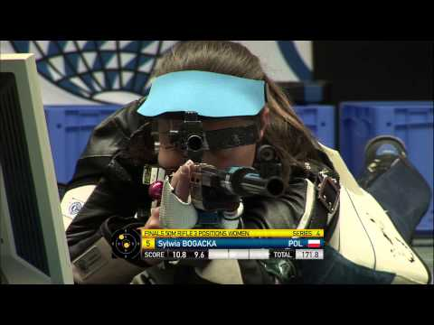 50m Women's Rifle 3 Positions final - Munich 2013 ISSF World Cup