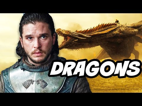 Game Of Thrones Season 7 Jon Snow Dragon Theory