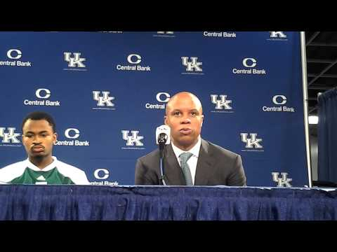 Eastern Michigan's Rob Murphy and Darell Combs Post-Kentucky Press Conference