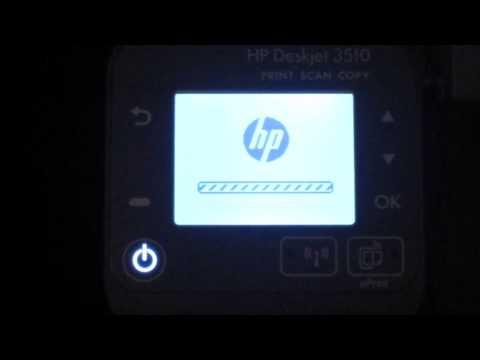 HP Deskjet 3510 Wireless Setup