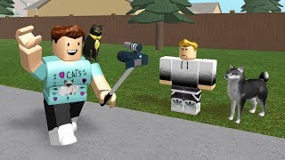 VLOGGING IN ROBLOX