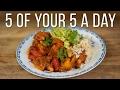 Sweet Potato & White Bean Chilli   5 a Day Dish