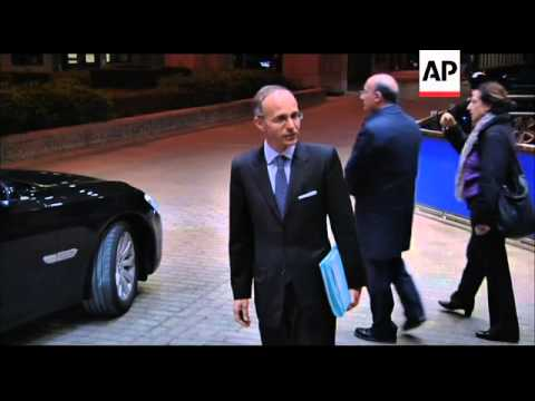 Finance ministers comment on Spanish and Greek debt