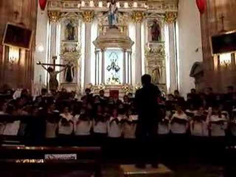 Бах Иоганн Себастьян - Coro Crucifixus (Tarrega)