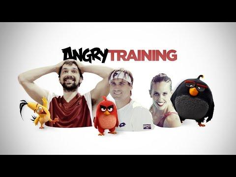 ANGRY BIRDS LA PELÍCULA. Angry Training. En cines 13 de mayo