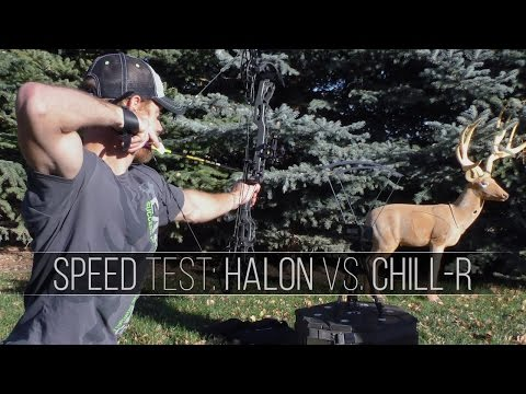 Mathews Halon VS Chill R - Bow Speed Test. Archery Review