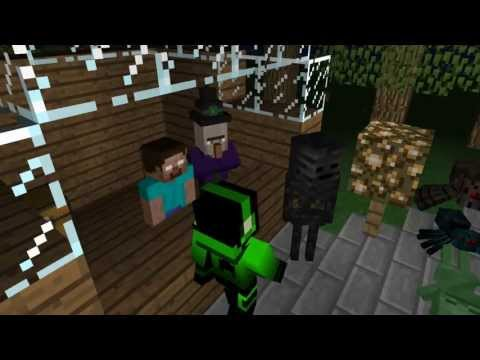 The Mob Party - A Minecraft Animation!