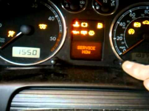 how to reset service light on a 2002 volkswagen passat 1.9 tdi
