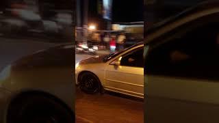 Asidente en la auto pitas Duarte de película frente ah Carrefour