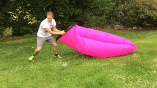 Laybag, Lamzac, Laybeany - fab, but not so easy to inflate!