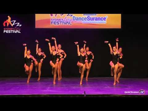 2016 Sydney Latin Festival.  Salsa Republic Cha Cha Chicas