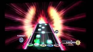 Guitar Hero Warriors Of Rock - Fury Of The Storm 100% FC expert guitar
