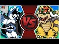 CHAOS KING Vs BOWSER Undertale Deltarune Animation Cartoon Fight Club Episode 297 mp3