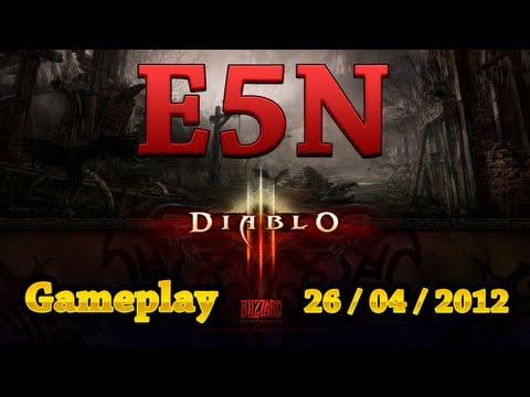 Diablo 3 - Revelações e Gameplay antes do lançamento (3 Horas)