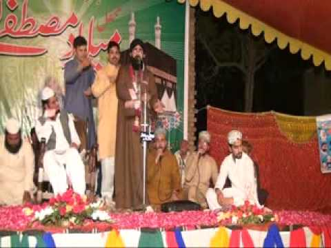 Shahzad Hanif Madni Mehfile Naat Thathi Khurd Sialkot 15-04-2014 Part 1 video
