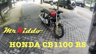 Test Riding the Honda CB1100 RS