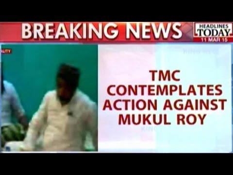 TMC Contemplates Action Against Mukul Roy