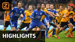 ZINDERENDE ontknoping | Wolverhampton vs Leicester City | Premier League 2018/19 | Samenvatting