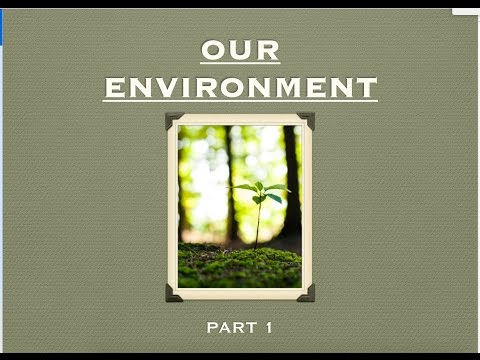 CBSE Class 10th - Biology - Our Environment Part 1 (Hindi)