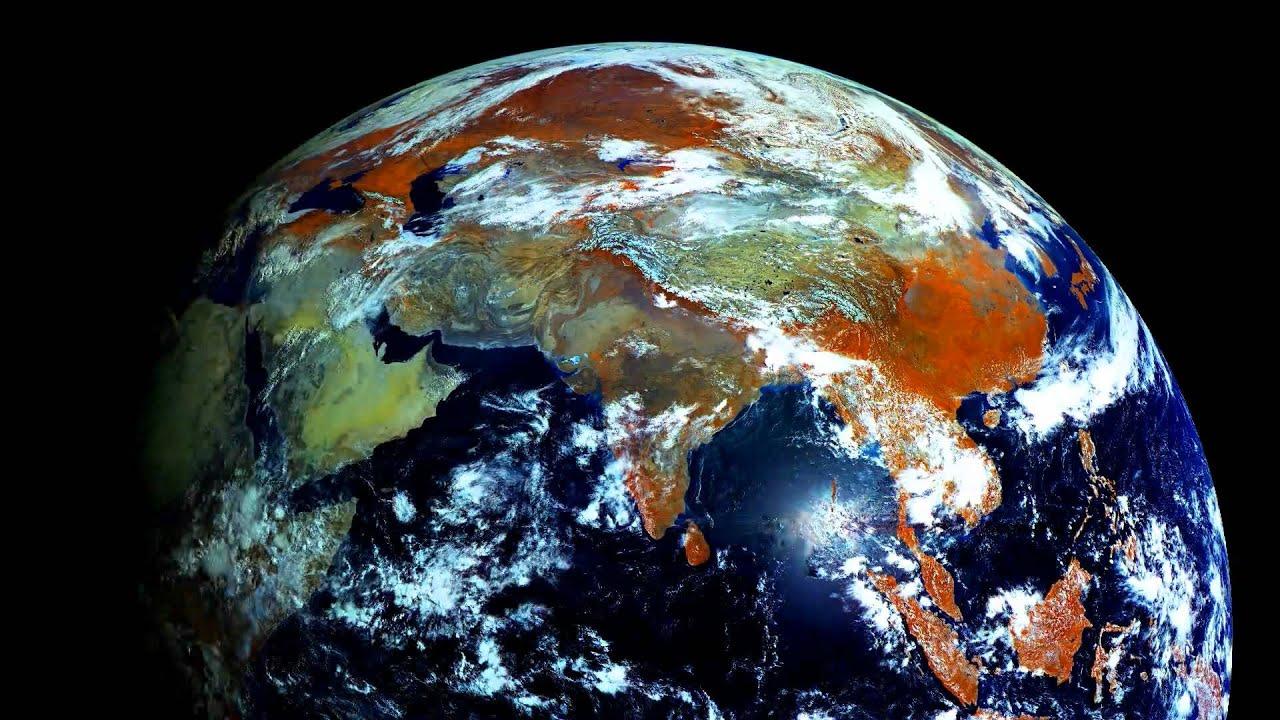 La terra fotografata dallo spazio