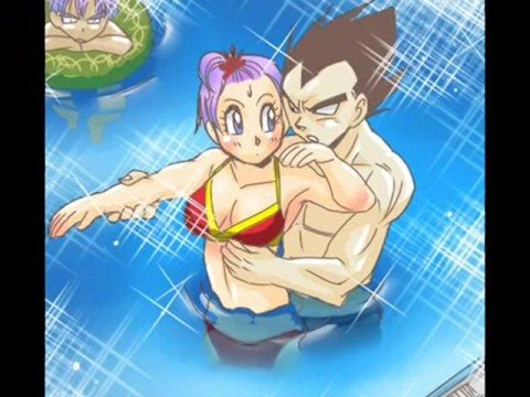 Vegeta and Bulma: womanizer