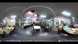 360 VR [MBN] 실제상황 메이킹필름 real situation making film-police office scene