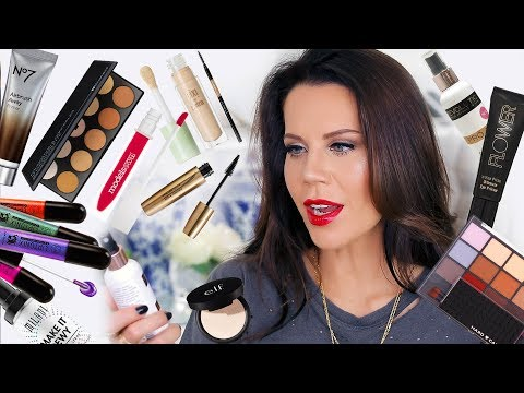 First Impressions NEW DRUGSTORE MAKEUP   Get Ready & Wear test