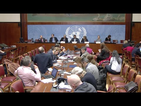 UN and NGO Representatives Express Expectations for Upcoming Negotiation of Syrian Conflict